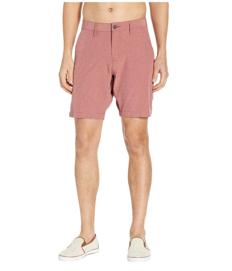 ビンテージ1946 メンズ ハーフパンツ・ショーツ 水着 Stretch Hybrid Shorts Red