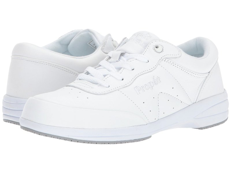 プロペット レディース スニーカー シューズ Washable Walker Medicare/HCPCS Code = A5500 Diabetic Shoe SR White