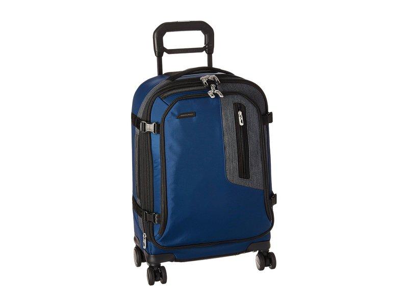 ブリグスアンドライリー メンズ ボストンバッグ バッグ BRX - Explore Domestic Carry-On Spinner Blue