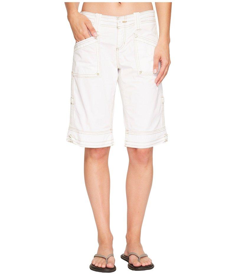 アベンチュラ レディース ハーフパンツ・ショーツ ボトムス Arden Standard Rise Short White