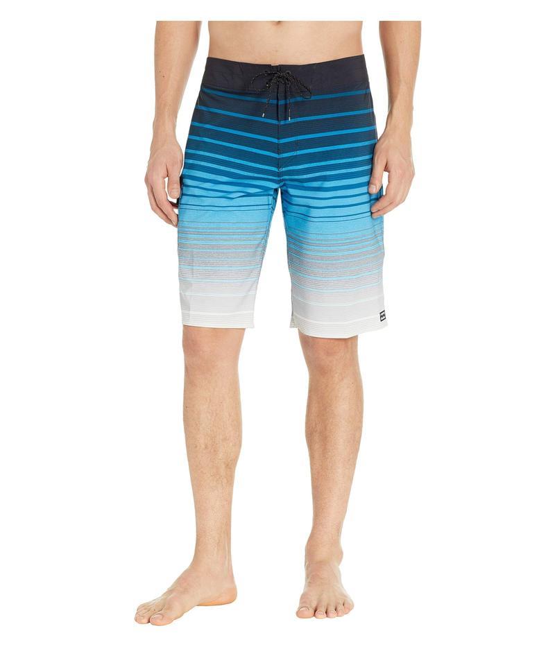 ビラボン メンズ ハーフパンツ・ショーツ 水着 All Day Stripe Pro Blue