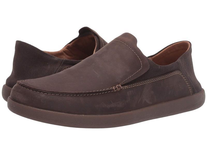 クラークス メンズ スニーカー シューズ Un Lisbon Lane Brown Oily Leather/Textile