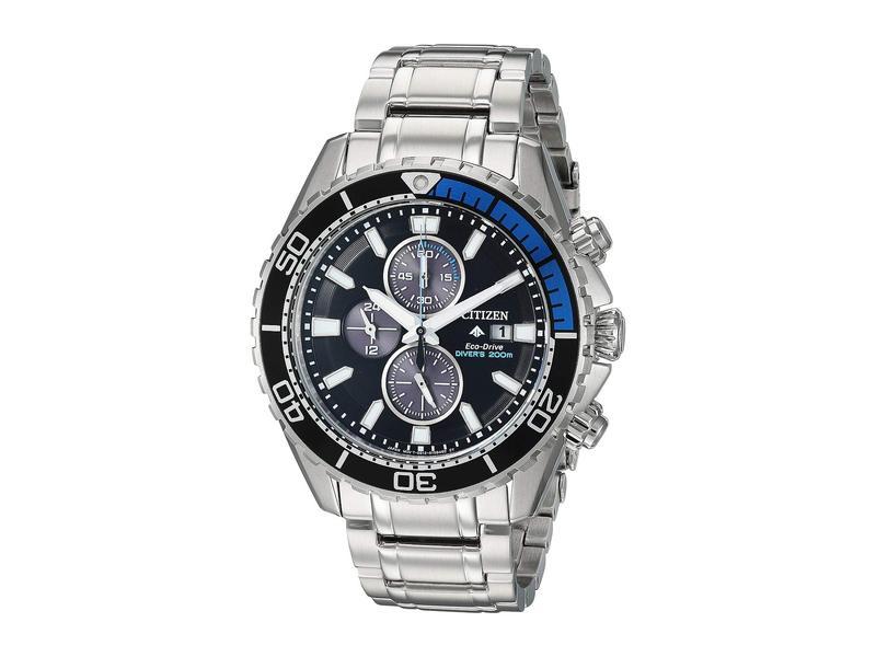 シチズンウォッチ メンズ 腕時計 アクセサリー CA0719-53E Promaster Diver Silver Tone