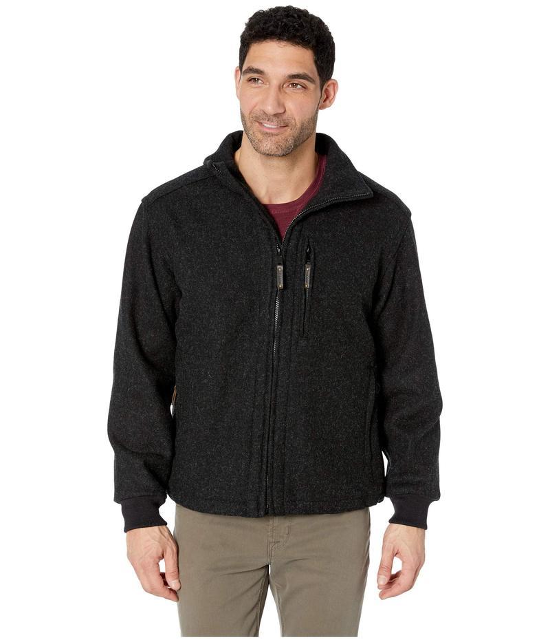 フィルソン メンズ コート アウター Mackinaw Wool Field Jacket Charcoal