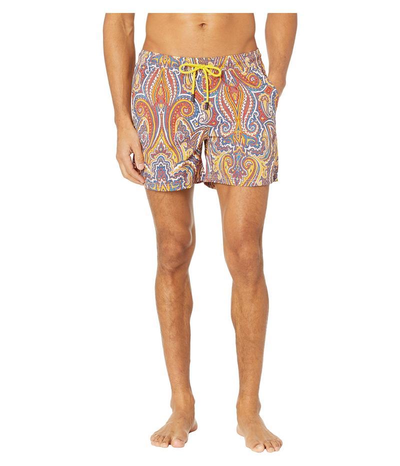 エトロ メンズ ハーフパンツ・ショーツ 水着 Large Paisley Swimsuit Multi