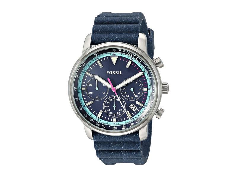 フォッシル メンズ 腕時計 アクセサリー Goodwin Chrono - FS5519 Blue