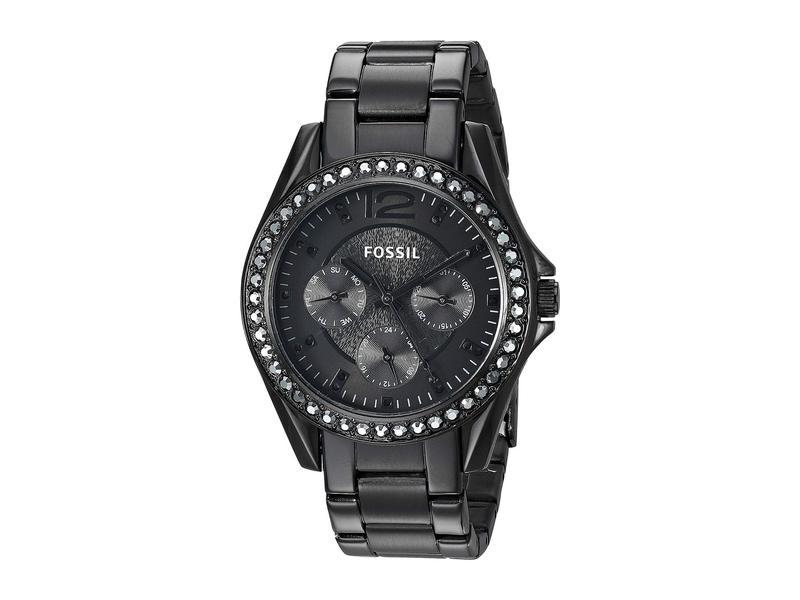 フォッシル レディース 腕時計 アクセサリー Riley - ES4519 Black