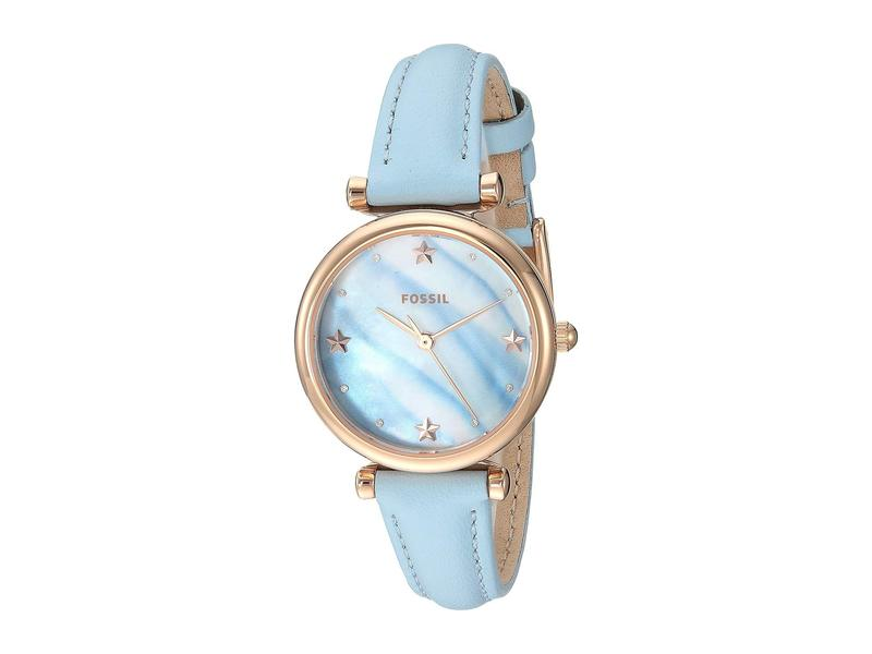 フォッシル レディース 腕時計 アクセサリー Carlie Mini - ES4528 Blue