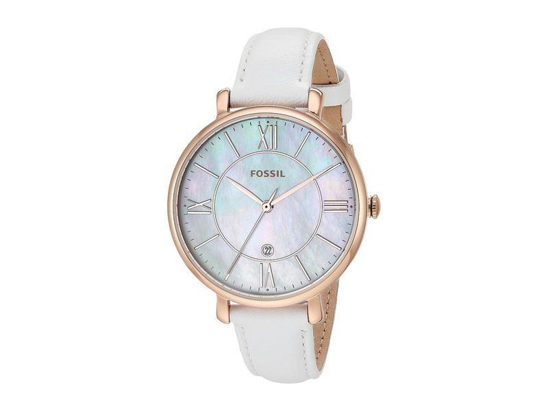 フォッシル レディース 腕時計 アクセサリー Jacqueline - ES4579 White
