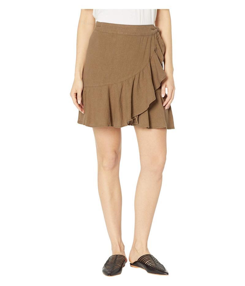 フリーピープル レディース スカート ボトムス Ruffle My Feathers Mini Skirt Olive
