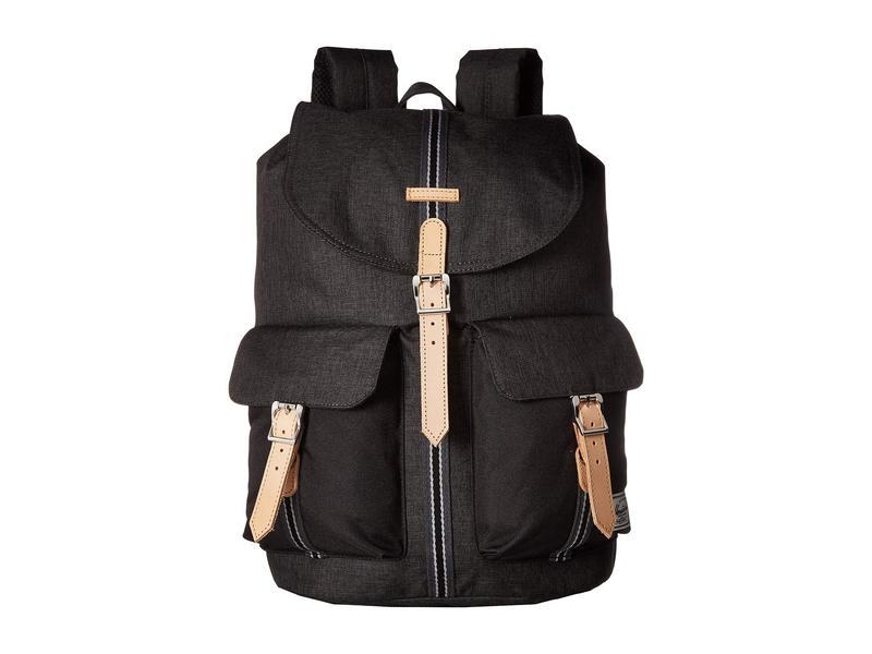 ハーシェルサプライ メンズ バックパック・リュックサック バッグ Dawson Backpack Black Crosshatch/Black