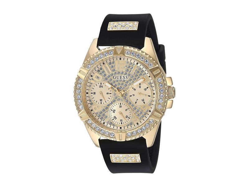 ゲス レディース 腕時計 アクセサリー U1160L1 Black/Gunmetal