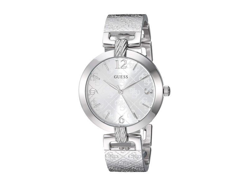 ゲス レディース 腕時計 アクセサリー U1228L1 Silver-Tone