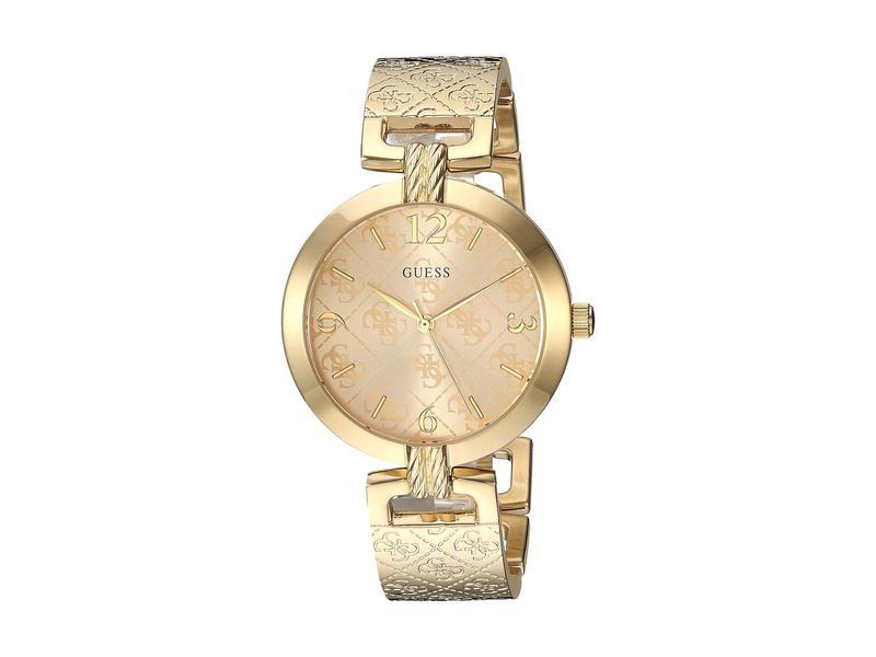 ゲス レディース 腕時計 アクセサリー U1228L2 Gold-Tone