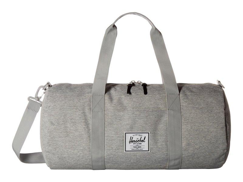ハーシェルサプライ メンズ ボストンバッグ バッグ Sutton Mid-Volume Light Grey Crosshatch