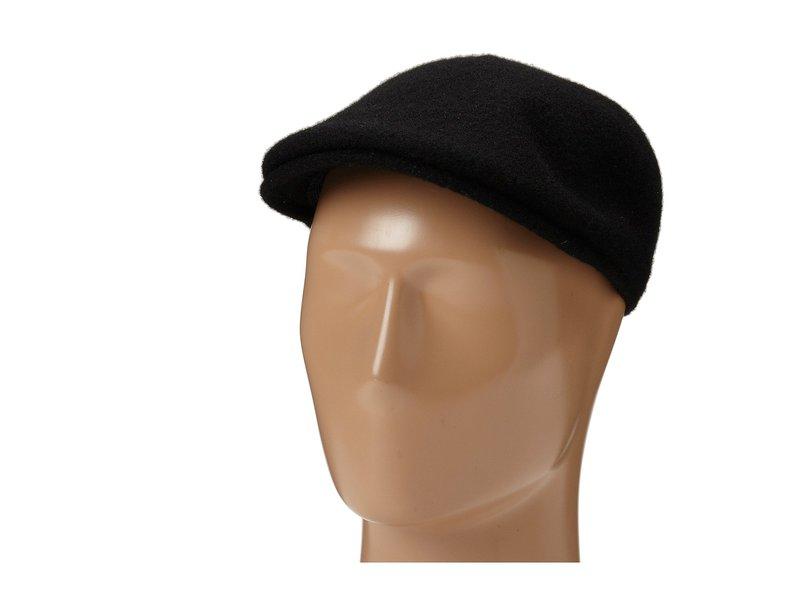 カンゴール メンズ 帽子 アクセサリー Seamless Wool 507 Black