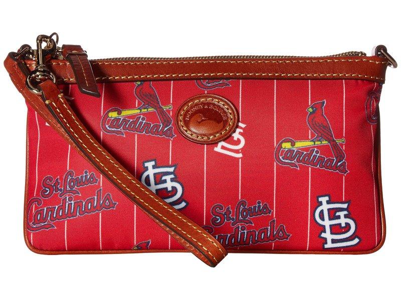 ドーネイアンドバーク レディース ハンドバッグ バッグ MLB Large Slim Wristlet Cardinals