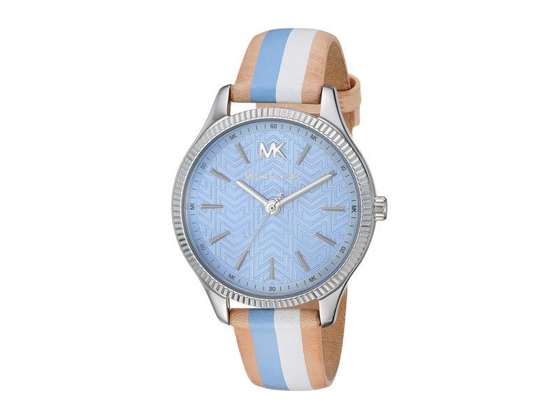 マイケルコース レディース 腕時計 アクセサリー MK2807 - Lexington Blue/Brown/White