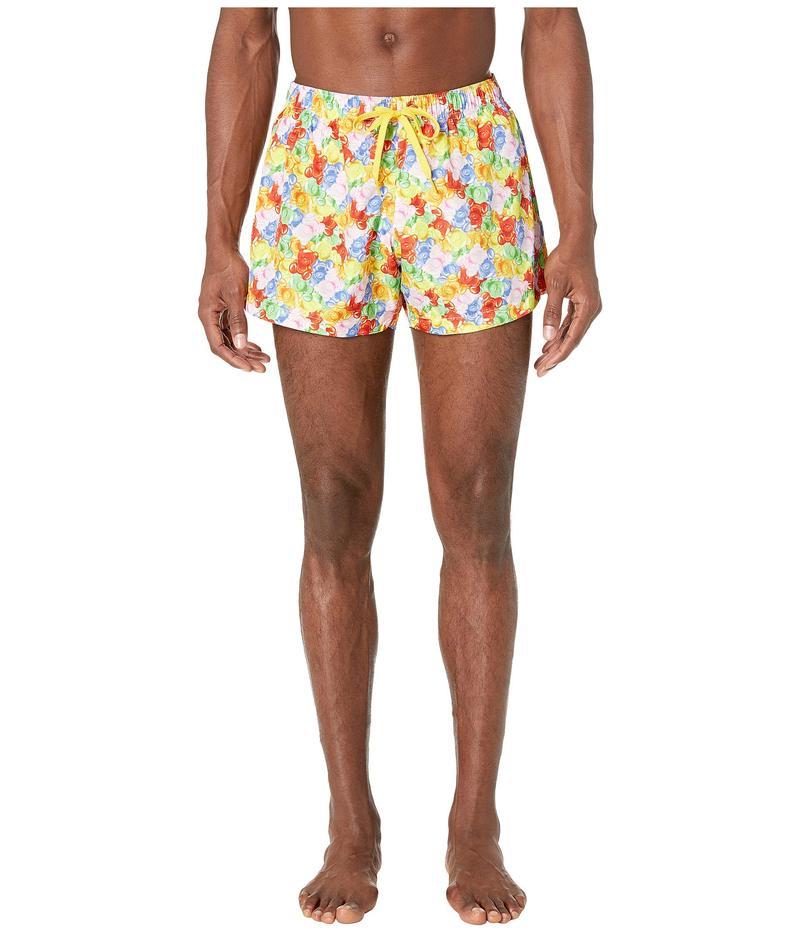 モスキーノ メンズ ハーフパンツ・ショーツ 水着 Gummy Bears Swim Shorts Multi