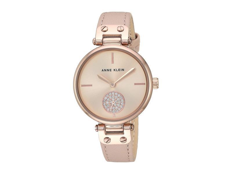 アンクライン レディース 腕時計 アクセサリー AK-3380RGLP Pink/Rose Gold-Tone