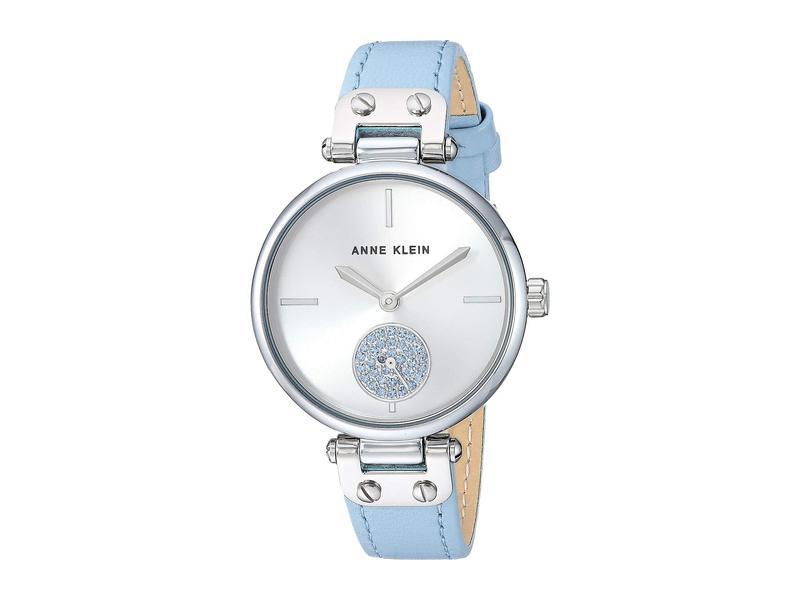 アンクライン レディース 腕時計 アクセサリー AK-3381SVLB Blue/Silver-Tone