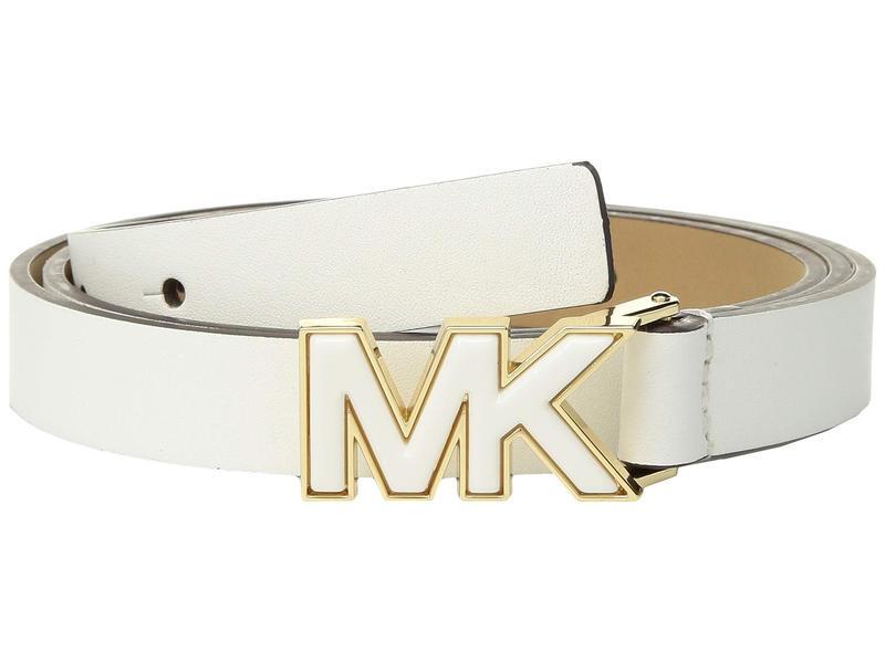 マイケルコース レディース ベルト アクセサリー Printed Belt Optic White