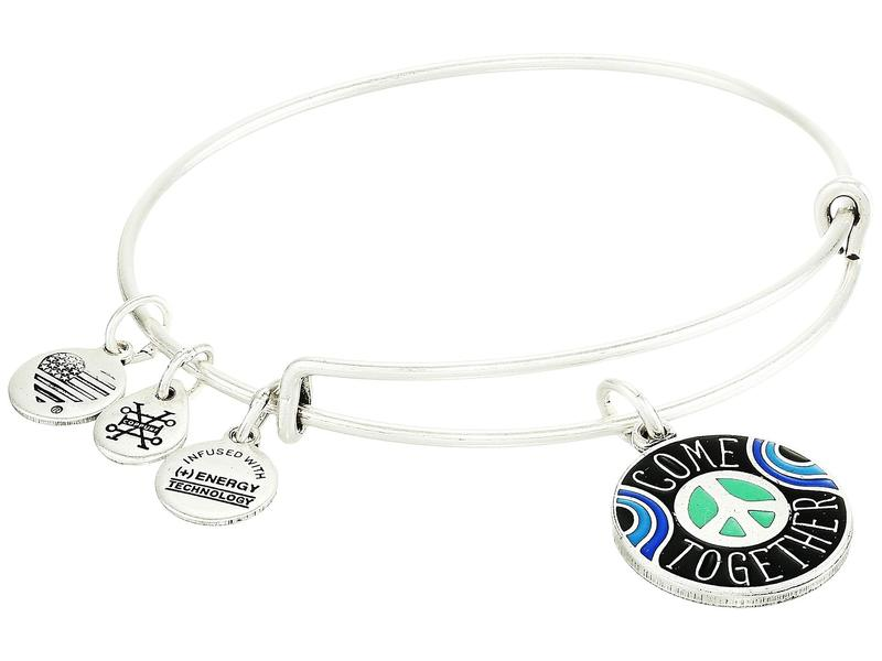 アレックスアンドアニ レディース ブレスレット・バングル・アンクレット アクセサリー Come Together Bangle Bracelet Rafaelian Silver