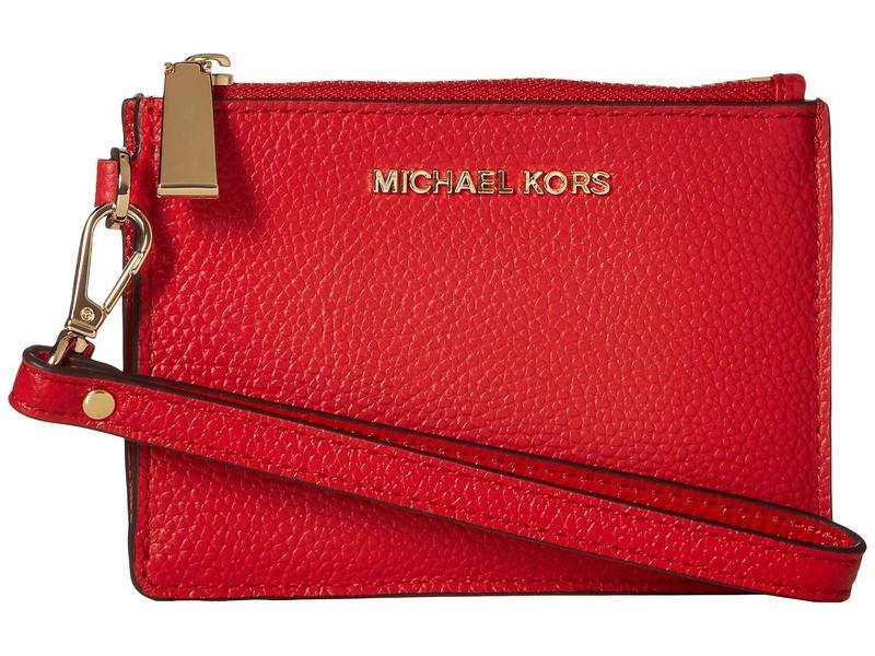マイケルコース レディース 財布 アクセサリー Small Coin Purse Bright Red