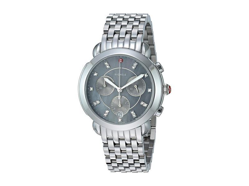 ミッシェル レディース 腕時計 アクセサリー Sidney - MWW30A000027 Stainless/Grey Mother-of-Pearl Dial
