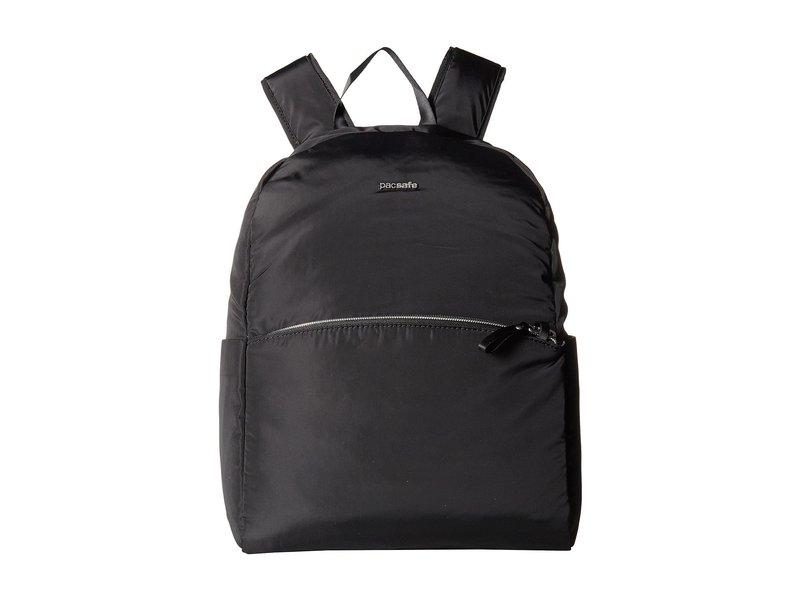 パックセーフ レディース バックパック・リュックサック バッグ Stylesafe Anti-Theft Backpack Black
