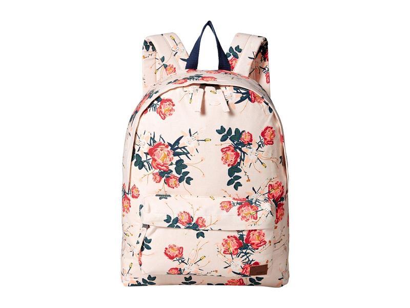 ロキシー レディース バックパック・リュックサック バッグ Sugar Baby Canvas 16L Small Backpack Cloud Pink/Garden Lily