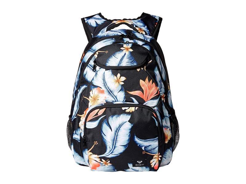 ロキシー レディース バックパック・リュックサック バッグ Shadow Swell Backpack Anthracite/Tropical Love