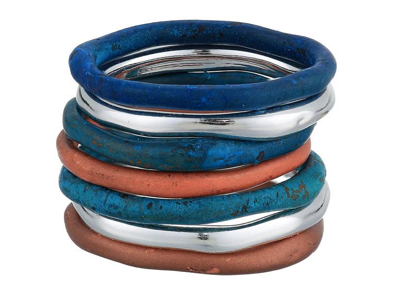 ロバートリーモリス レディース リング アクセサリー Mixed Patina Sculptural Ring Set Multi