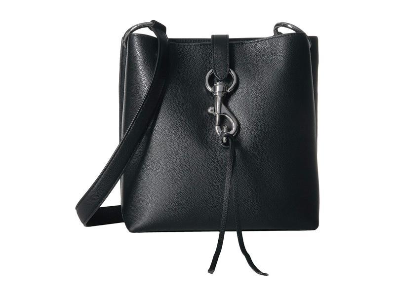 レベッカミンコフ レディース ハンドバッグ バッグ Megan Small Feed Bag Black