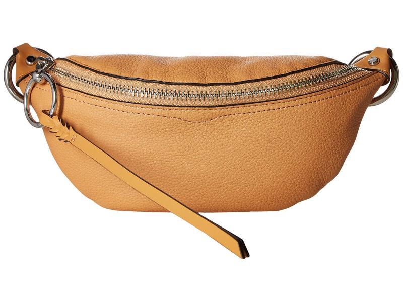 レベッカミンコフ レディース ボディバッグ・ウエストポーチ バッグ Bree Mini Belt Bag Honey