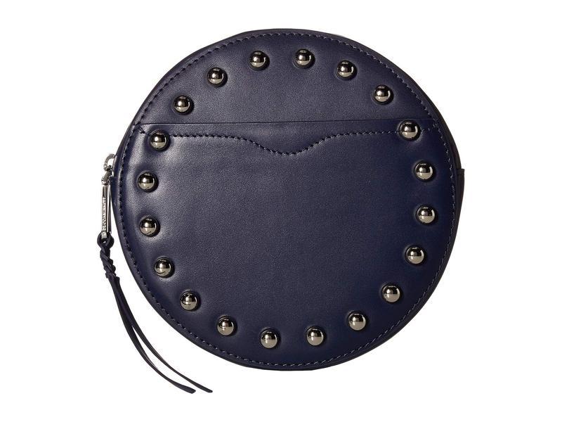 レベッカミンコフ レディース ボディバッグ・ウエストポーチ バッグ 20 mm Studded Belt Bag Twilight