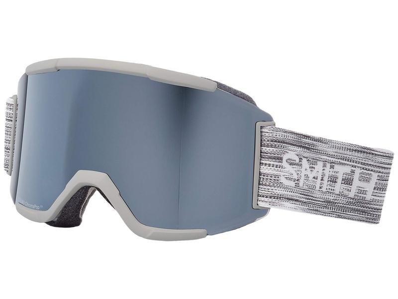 スミスオプティックス メンズ サングラス・アイウェア アクセサリー Squad Goggle Cloud Grey/Chromapop Sun Platinum Mirror/Yellow