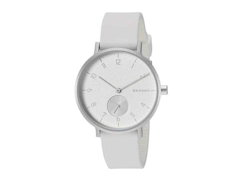 スカーゲン レディース 腕時計 アクセサリー Aaren Aluminum Bold - SKW2763 White