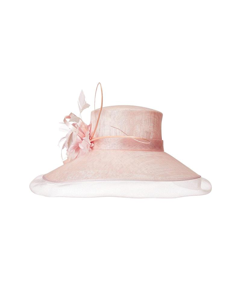 スカラ レディース 帽子 アクセサリー Sinamay Big Brim Hat Pink