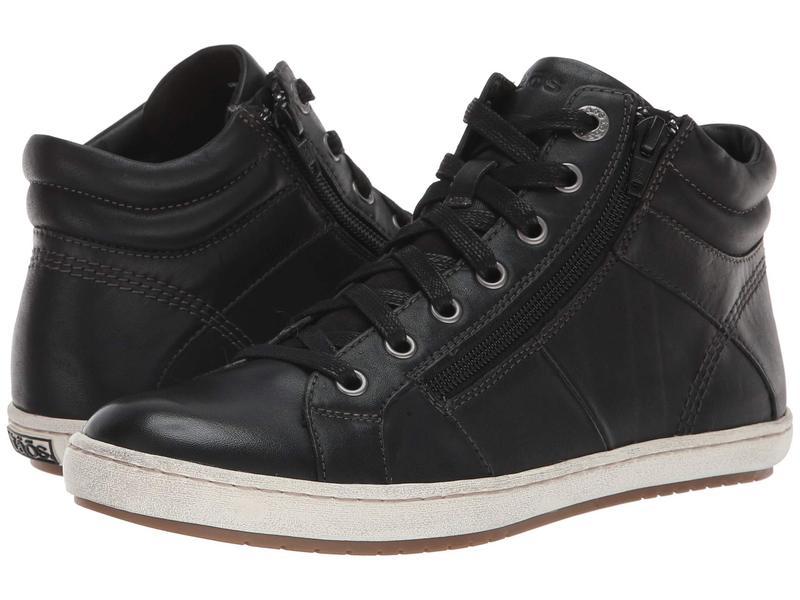 タオスフットウェア Black レディース スニーカー シューズ Leather Union スニーカー Black Leather, 楢川村:08d069ff --- sunward.msk.ru