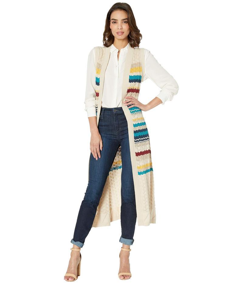 ステトソン レディース ニット・セーター アウター 3664 Sweater Knit Duster Vest Multi