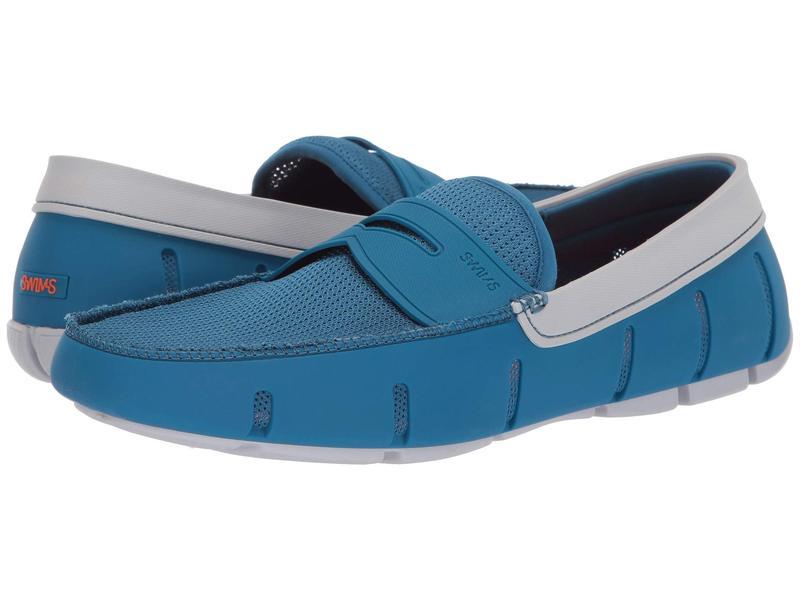 スウィムス メンズ スリッポン・ローファー シューズ Penny Loafer Seaport Blue/Alloy