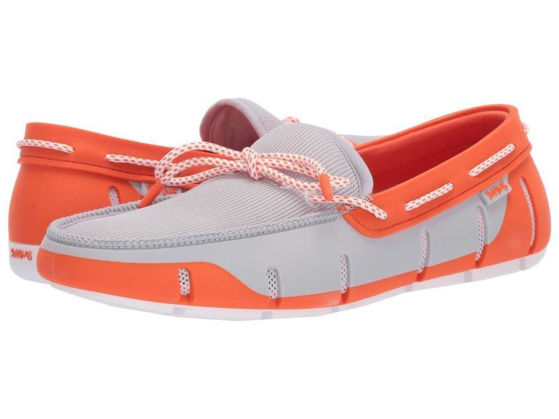 スウィムス メンズ デッキシューズ シューズ Stride Lace Loafer Alloy/Orange