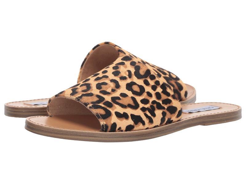 スティーブ マデン レディース サンダル シューズ Gracel Flat Sandal Leopard