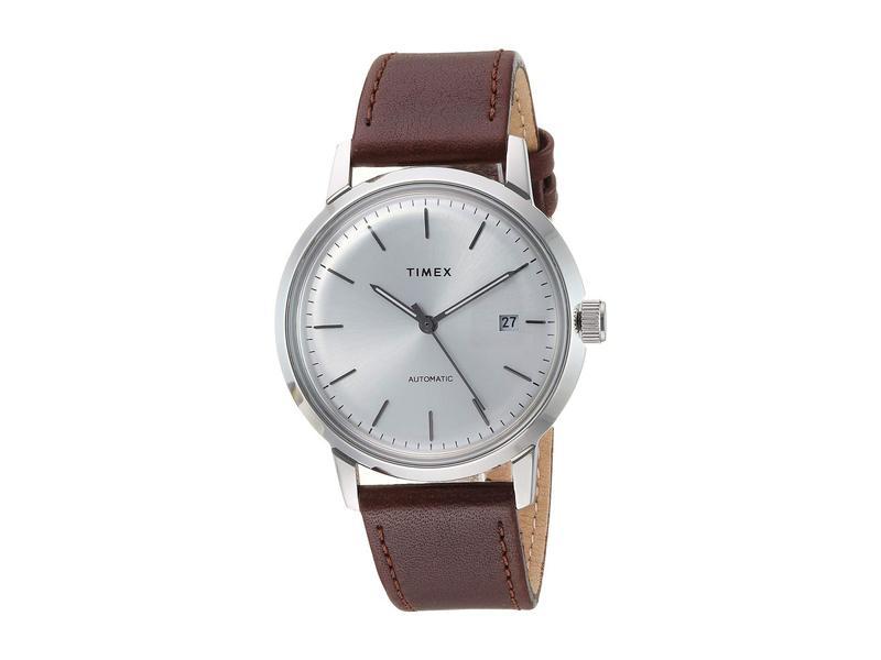 タイメックス メンズ 腕時計 アクセサリー Marlin Automatic Brown/Silver