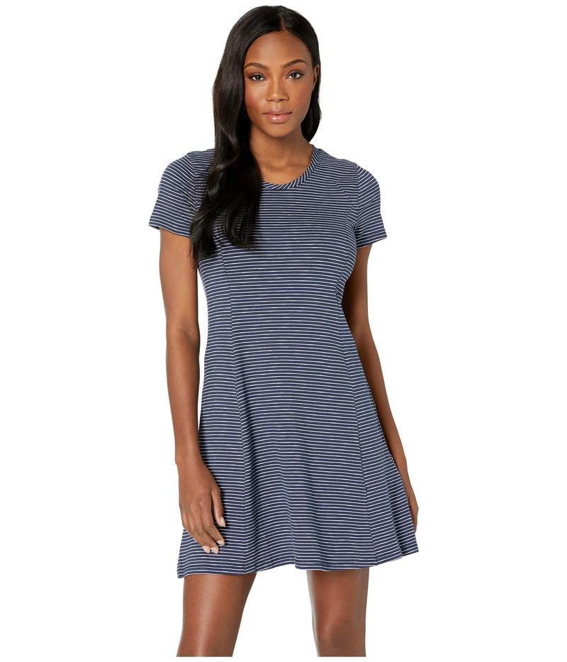 ドード アンドコー レディース ワンピース トップス Windmere Short Sleeve Dress Deep Navy Mini Stripe