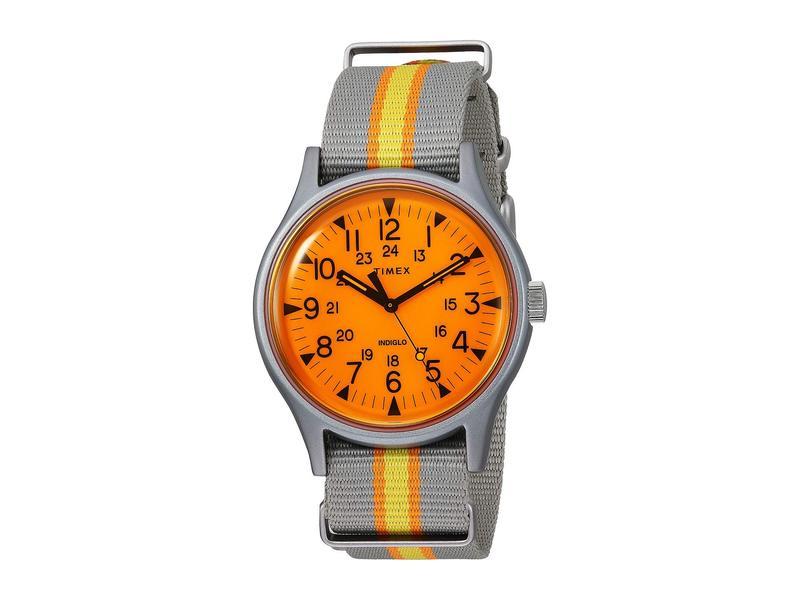 タイメックス メンズ 腕時計 アクセサリー 40 mm MK1 Aluminum California Dreaming Orange/Tan