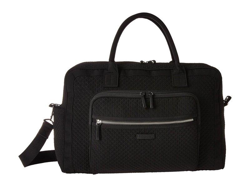 ベラブラッドリー レディース ボストンバッグ バッグ Iconic Weekender Travel Bag Classic Black