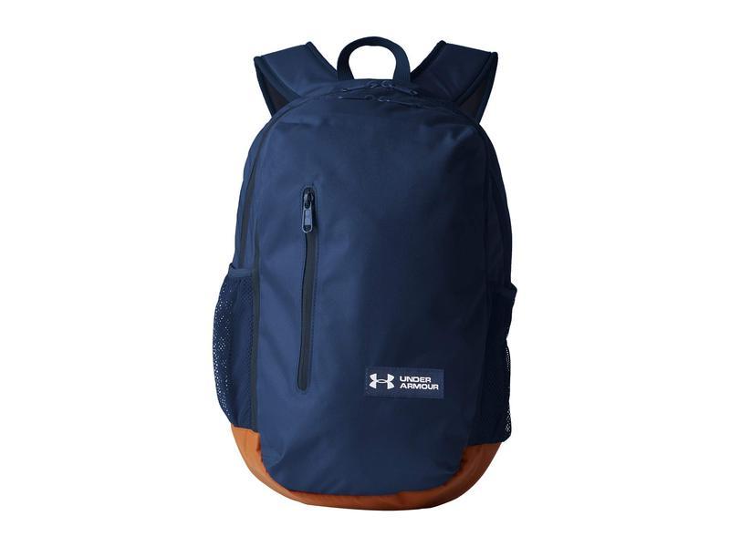 アンダーアーマー メンズ バックパック・リュックサック バッグ UA Roland Backpack Academy/Sienna Brown/White