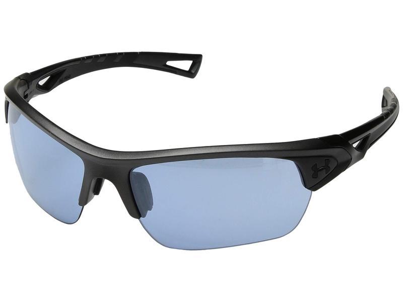 アンダーアーマー メンズ サングラス・アイウェア アクセサリー UA Octane Satin Carbon/Black Frame/Recovery Tuned Lens